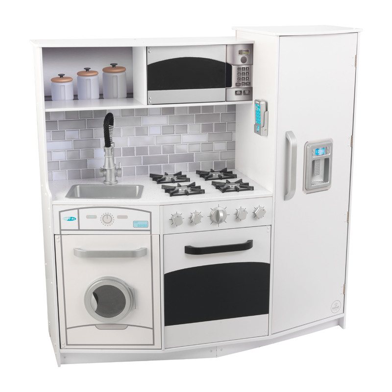 Large Play Kitchen: Kidkraft Large Play Kitchen With Lights And Sounds