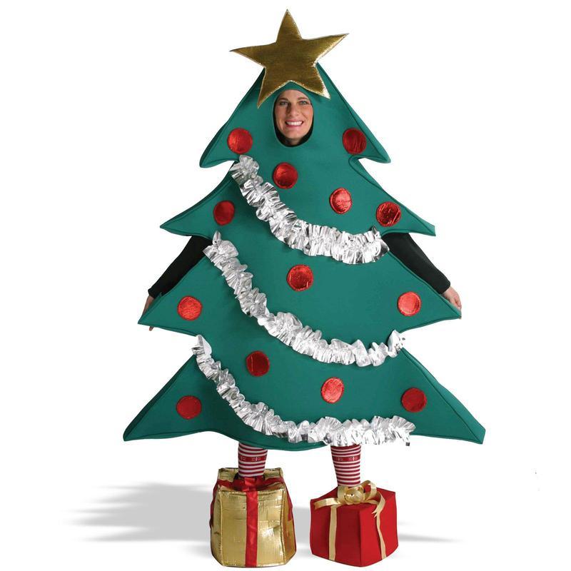 Rasta imposta christmas tree with shoe boxes adult costume