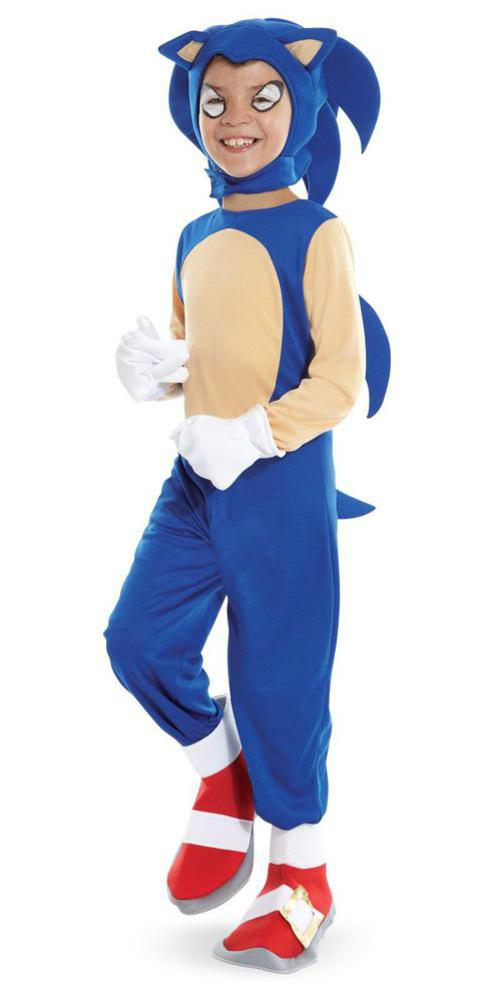 Sonic the hedgehog costume for kids