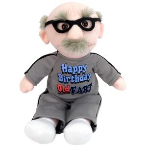 """9"""" """"Happy Birthday Old Fart"""" Sing """"Happy Birthday"""""""