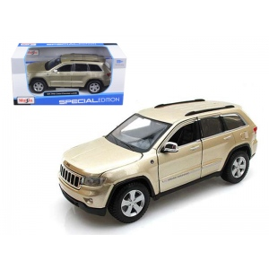 2011 Jeep Grand Cherokee Gold 1/24 Diecast Model Car by Maisto
