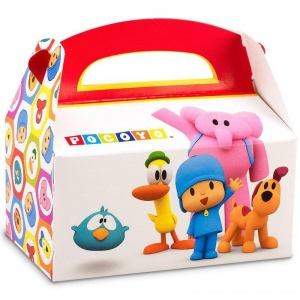 Pocoyo Empty Favor Box (stock): Birthday