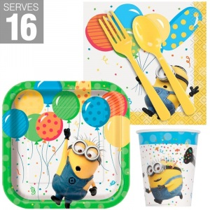 BuySeasons Despicable Me Minions Snack Pack for 16