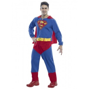Rubie's Costumes Men's Superman Adult Onesie Costume