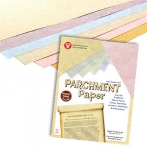 "Hygloss Parchment Paper: Gold, 8.5"" x 11"", 30 Sheets"