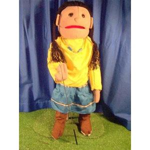 "Sunny Toys Girl: Native Amerian, 28"""