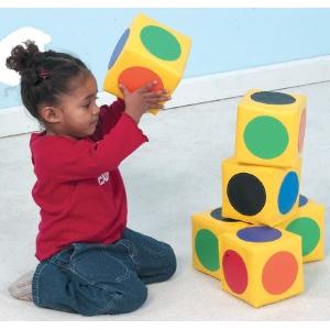 The Children's Factory Match the Dot Blocks