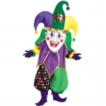 Parade Jolly Jester Adult: Standard One Size, Mardi Gras, Unisex, Adult